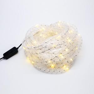 5M 50LED Net tube USB Power led string lighs