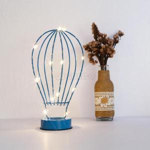 Bulb Iron crafts night light with led string lights